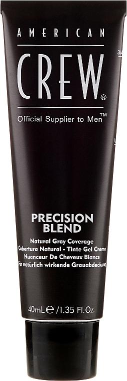 Sistem de mascare pentru părul cărunt - American Crew Precision Blend Shades — Imagine N2