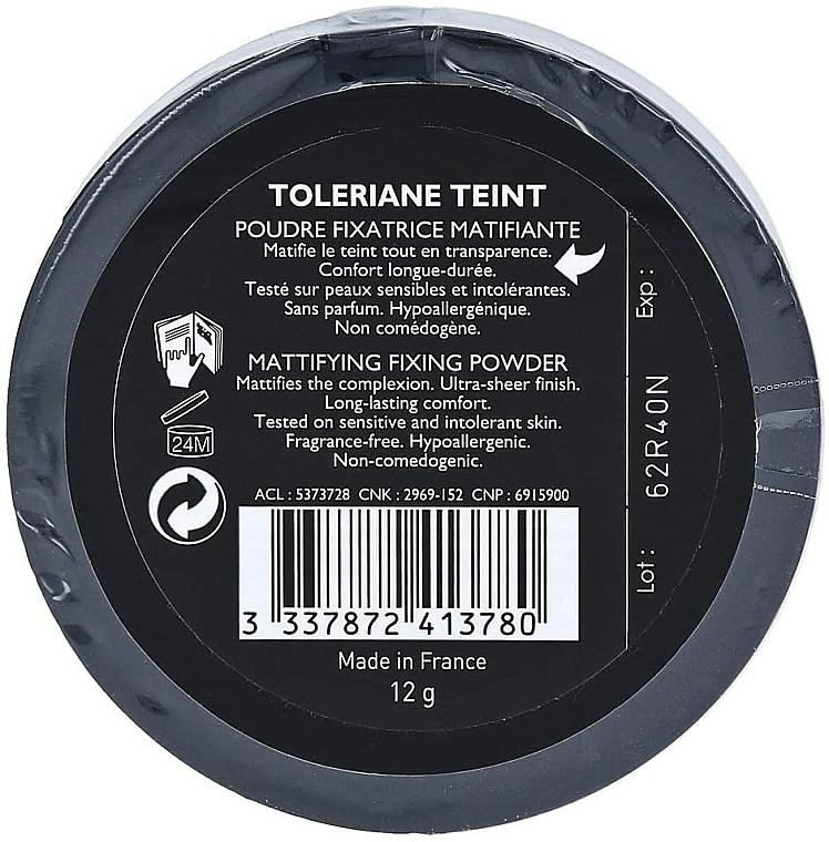 Pudră de față - La Roche-Posay Toleriane Teint Matifying and Fixing Powder — Imagine N3
