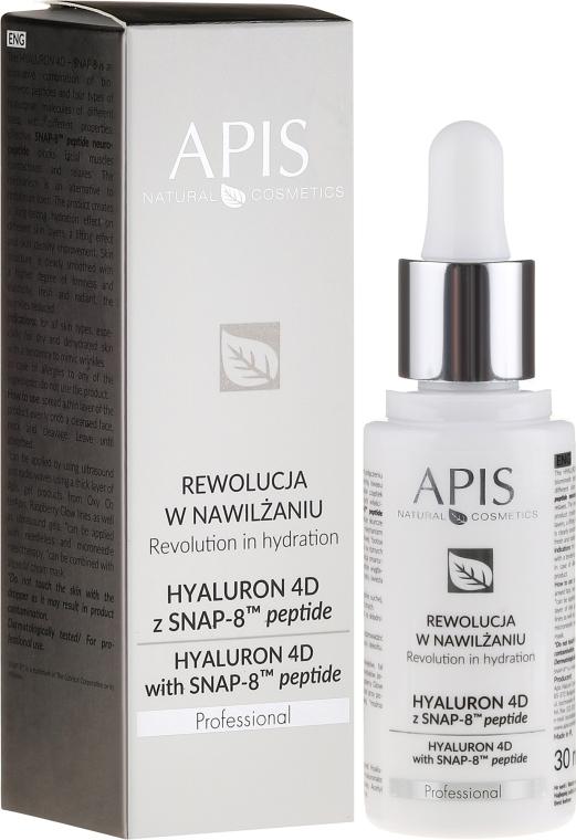Ser pentru față - APIS Professional Hyaluron 4D + Snap-8 Peptide