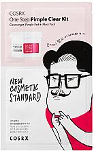 Parfumuri și produse cosmetice Set - COSRX One Step Pimple Clear Kit (gel/1.2ml + pad/5mlX2EA + mask/21ml)