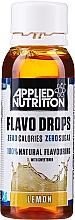 "Parfumuri și produse cosmetice Arome alimentare naturale ""Lămâie"" - Applied Nutrition Flavo Drops Lemon"