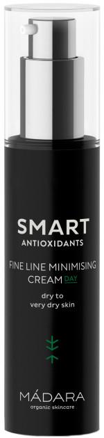 Cremă de zi pentru primele semne de îmbătrânire - Madara Cosmetics Smart Antioxidants Fine Line Minimising Cream — Imagine N2