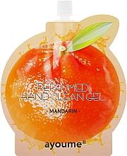 """Parfumuri și produse cosmetice Cremă antiseptică pentru mâini """"Mandarină"""" - Ayoume Perfumed Hand Clean Gel Mandarin"""