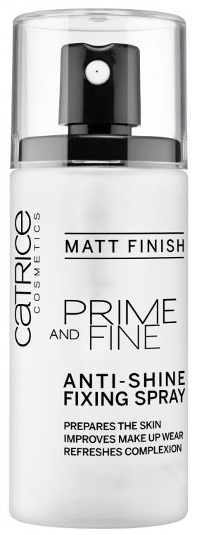 Fixator de machiaj - Catrice Prime And Fine Anti-Shine Fixing Spray
