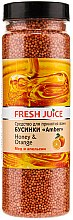 Parfumuri și produse cosmetice Bile pentru baie - Fresh Juice Bath Bijou Amber Honey and Orange
