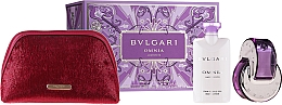 Parfumuri și produse cosmetice Bvlgari Omnia Crystalline - Set (edt/65 + b/lot/2x75ml + pouch)