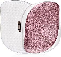 Parfumuri și produse cosmetice Perie de păr - Tangle Teezer Compact Styler Glitter Rose
