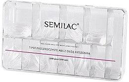 Parfumuri și produse cosmetice Tipsuri - Semilac Tips Box Klar