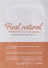 Parfumuri și produse cosmetice Mască probiotică pentru ten deshidratat, împotriva semnelor îmbătrânirii - Glamfox Probiotics D-Tox Mask