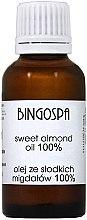 Parfumuri și produse cosmetice Ulei de migdale dulci - BingoSpa