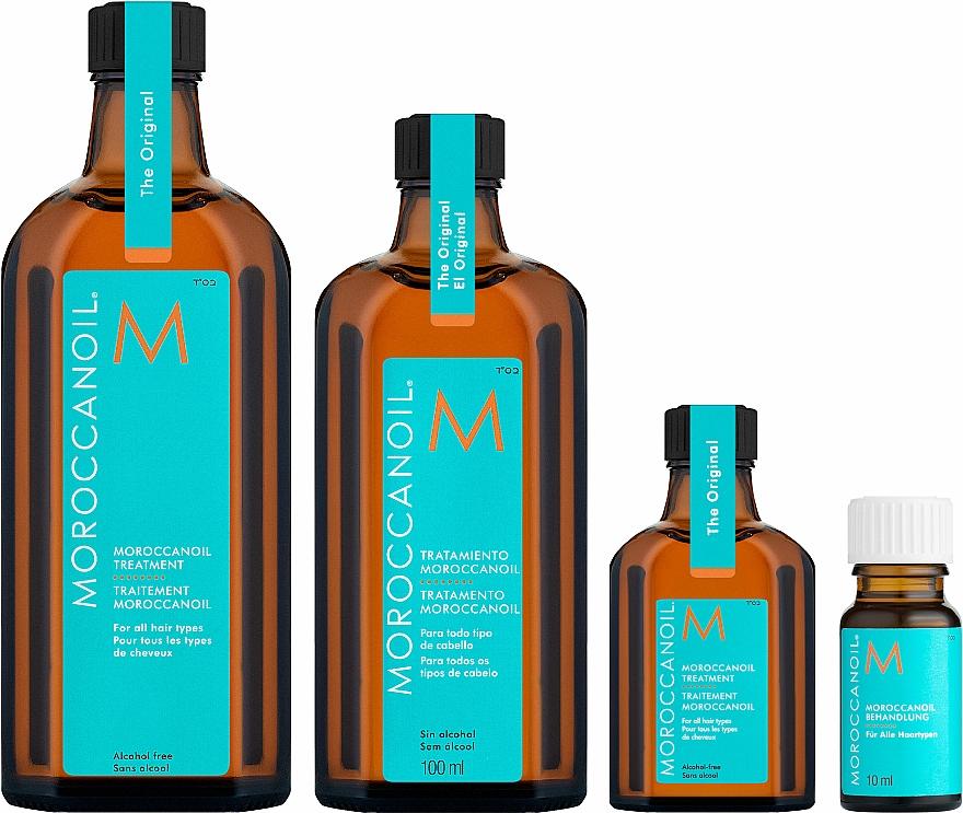 Ulei regenerator pentru păr - Moroccanoil Oil Treatment For All Hair Types — Imagine N10