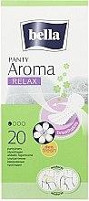 Parfumuri și produse cosmetice Absorbante Panty Aroma Relax, 20 bucăți - Bella