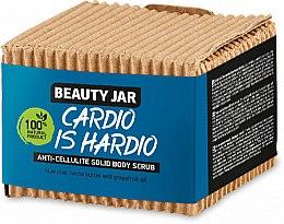 Parfumuri și produse cosmetice Scrub solid, anticelulitic - Beauty Jar Cardio Is Hardio Anti-Cellulite Solid Body Scrub