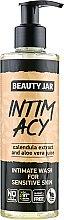 """Parfumuri și produse cosmetice Gel intim pentru pielea sensibilă """"Intim Acy"""" - Beauty Jar Intimate Wash For Sensetive Skin"""