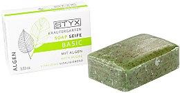 "Parfumuri și produse cosmetice Săpun ""Alge marine"" - Styx Naturcosmetic Basic Soap With Algae"