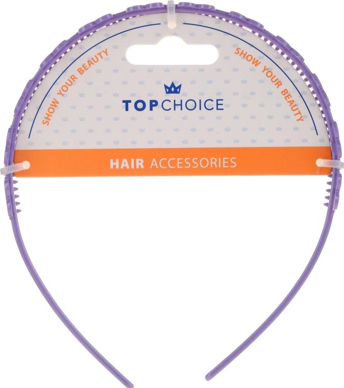 Cordeluță de păr, 27918, mov - Top Chice — Imagine N1