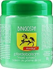 Parfumuri și produse cosmetice Balsam cu grăsime de cal și arnică - BingoSpa
