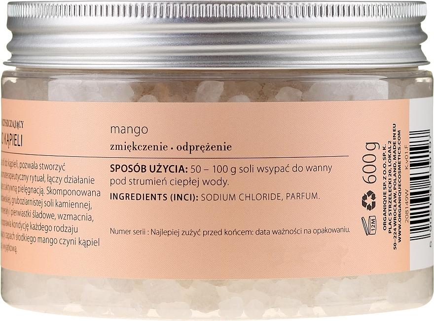 """Sare de baie relaxantă """"Mango"""" - Organique — Imagine N2"""