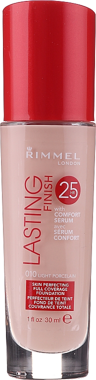 Fond de ten - Rimmel Lasting Finish 25h Foundation — Imagine N1