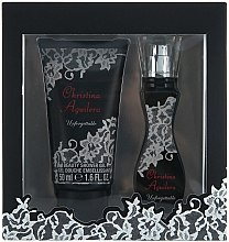 Parfumuri și produse cosmetice Christina Aguilera Unforgettable - Set (edp15ml + sh/g50ml)