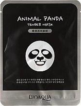 """Parfumuri și produse cosmetice Mască de țesut """"Panda"""" - Bioaqua Animal Panda Tender Mask"""
