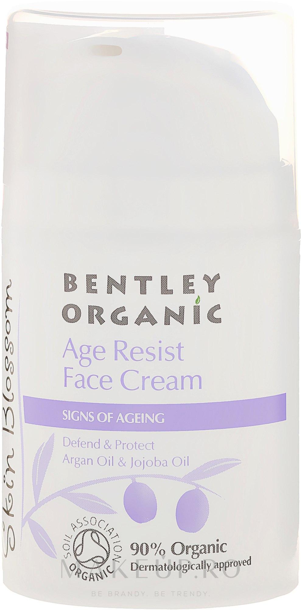 Cremă de față - Bentley Organic Skin Blossom Age Resist Face Cream — Imagine 50 ml