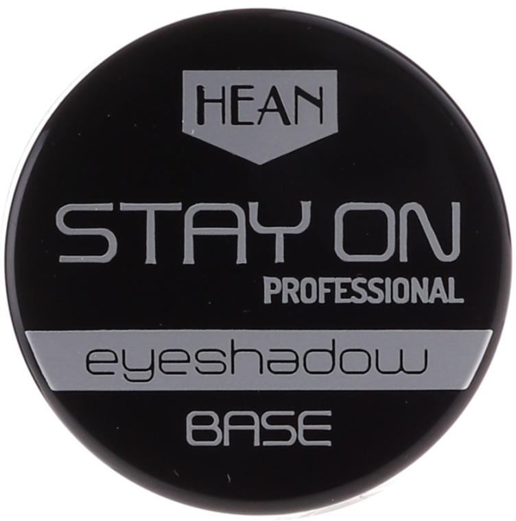 Bază pentru fard de pleoape - Hean Stay-On Professional Eyeshadow Base — Imagine N1