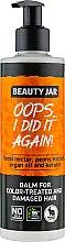 Parfumuri și produse cosmetice Balsam pentru părul vopsit și deteriorat - Beauty Jar Oops I Did It Again