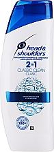 Parfumuri și produse cosmetice Şampon - balsam anti-mătreață - Head & Shoulders Clasic Clean 2in1 Shampoo