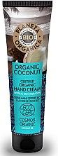 Parfumuri și produse cosmetice Cremă hidratantă de mâini - Planeta Organica Organic Coconut Hand Cream
