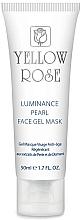 Parfumuri și produse cosmetice Mască-gel cu perle și pulbere de diamant pentru față (tub) - Yellow Rose Luminance Pearl Face Gel Mask
