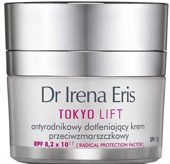 Cremă de zi cu efect de netezire - Dr Irena Eris Tokyo Lift Anti-Wrinkle Radical Protection Oxygen Cream — Imagine N1