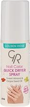Parfumuri și produse cosmetice Spray uscare rapidă a lacului de unghii - Golden Rose Nail Quick Dryer Spray