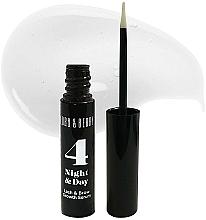 Parfumuri și produse cosmetice Ser pentru gene și sprâncene - Lord & Berry 4 Night and Day Lash & Brow Growth Serum