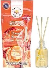 """Parfumuri și produse cosmetice Difuzor de aromă """"Scorțișoară și portocală"""" - La Casa de Los Aromas Mikado Reed Diffuser"""