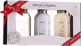Parfumuri și produse cosmetice Set - Baylis & Harding Sweet Mandarin & Grapefruit (sh/gel/100ml + sh/cream/100ml + b/lot/100ml)