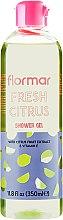 "Parfumuri și produse cosmetice Gel de duș ""Citrus"" - Flormar Fresh Citrus Shower Gel"