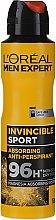 Deodorant-antiperspirant pentru bărbați - L'Oreal Men Expert Invincible Sport Deodorant 96H — фото N1
