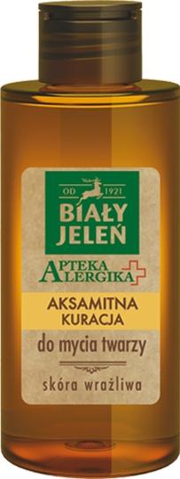 Gel pentru o îngrijirea catifelată a feței - Bialy Jelen Apteka Alergika Face Gel — Imagine N1