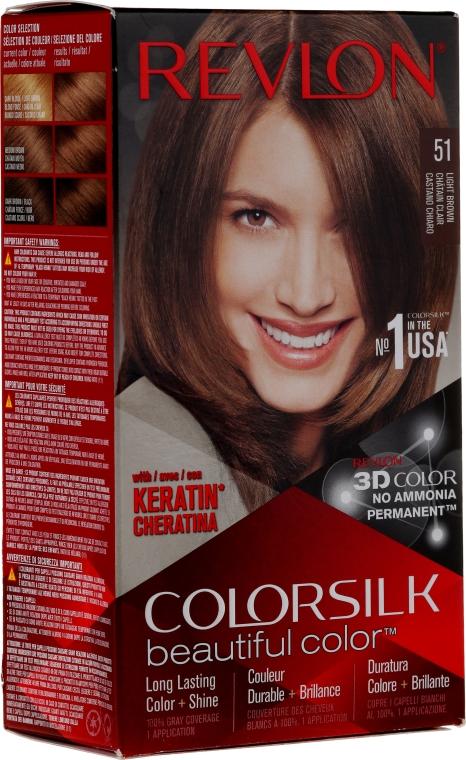 Vopsea de păr rezistentă - Revlon ColorSilk Beautiful Color