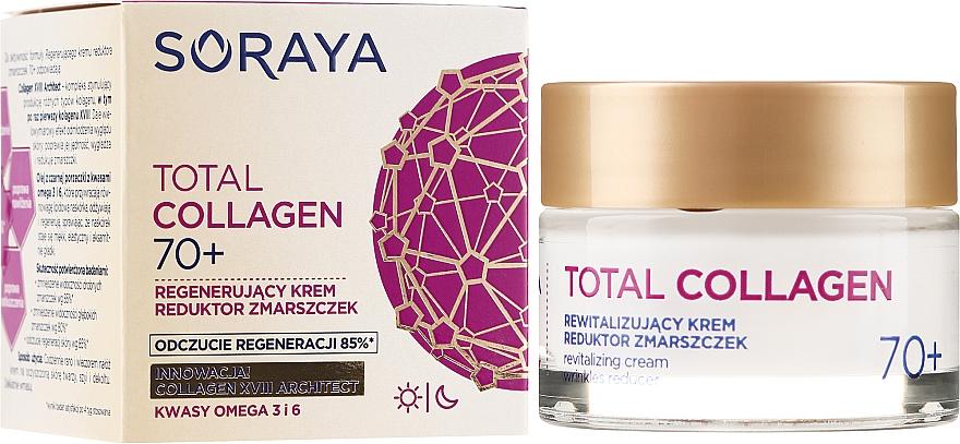 Cremă regeneratoare cu efect antirid 70+ - Soraya Total Collagen 70+ — Imagine N1