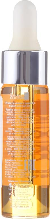Ulei pentru unghii și cuticule - Silcare The Garden Of Colour Mango Orange — Imagine N2
