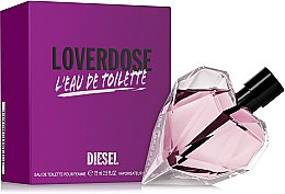Parfumuri și produse cosmetice Diesel Loverdose Eau de Toilette - Apă de toaletă (tester cu capac)