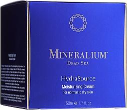 Parfumuri și produse cosmetice Cremă hidratantă pentru ten normal și uscat - Mineralium Dead Sea HydraSource Moisturizing Cream For Normal To Dry Skin