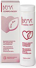 "Parfumuri și produse cosmetice Gel de duș ""Nutriție și Regenerare"" - Bema Cosmetici Bema Love Bio Relaxing & Nourishing Shower Gel"