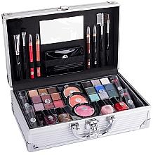 Parfumuri și produse cosmetice Paletă de machiaj - Cosmetic 2K Fabulous Beauty Train Case Complete Makeup Palette