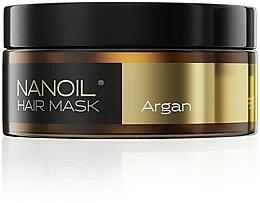 Parfumuri și produse cosmetice Mască pe bază de ulei de argan pentru păr - Nanoil Argan Hair Mask