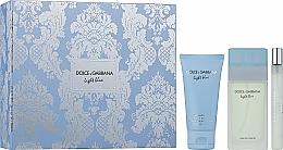 Dolce & Gabbana Light Blue - Set (edt/50ml + b/cr/50ml + edt/10ml) — Imagine N1