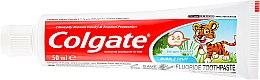 Pastă de dinți pentru copii, 2-3 ani - Colgate Toddler Bubble Fruit Anticavity Toothpaste For 2-5 Years Kids — Imagine N2