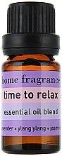 "Compoziție de uleiuri esențiale ""Relaxare"" - Apivita Aromatherapy Essential Oil Time to Relax  — Imagine N2"